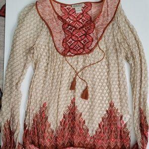 🍀 LUCKY BRAND tunic top. XS